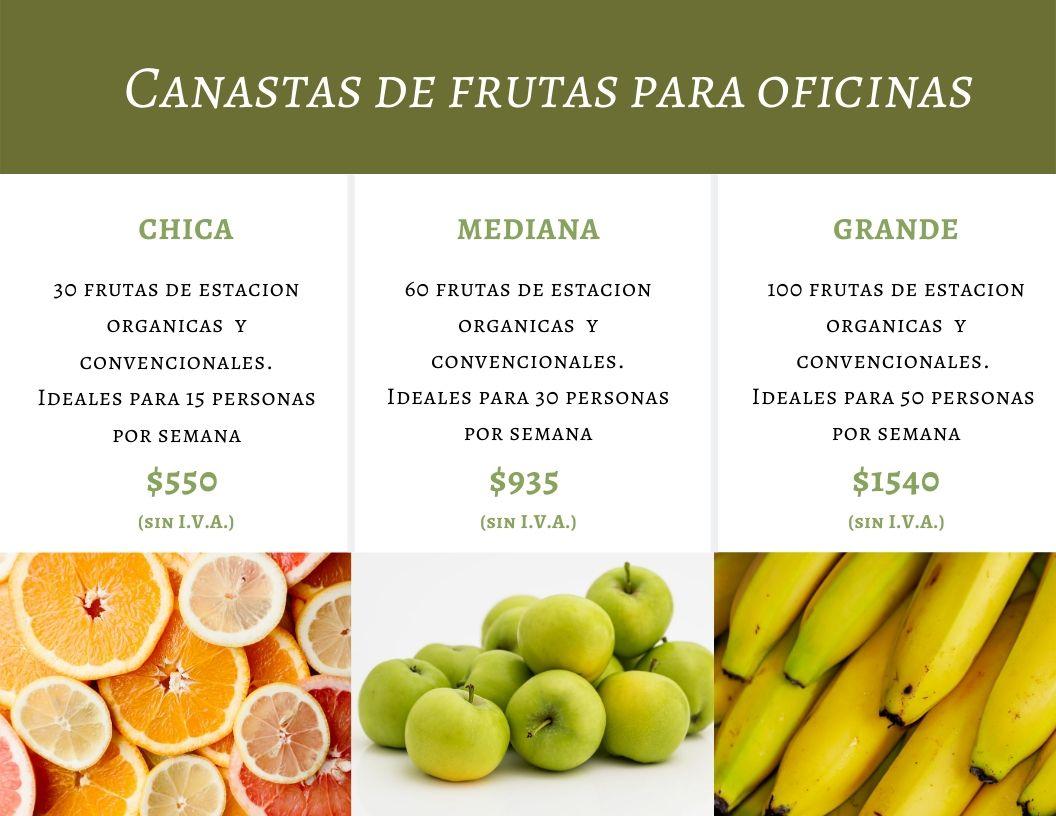 frutas en tu empresa